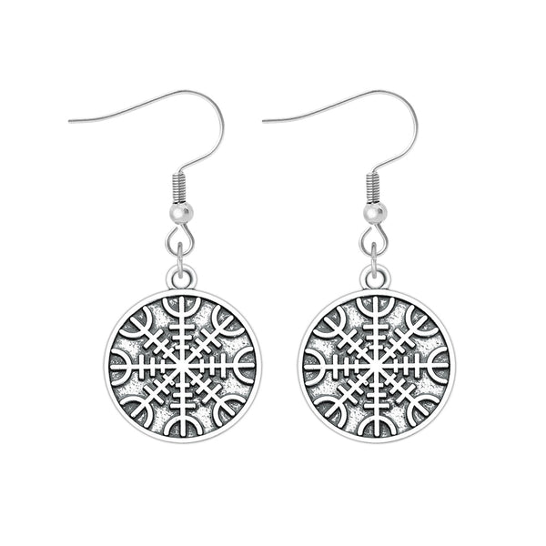 The Helm of Awe Earrings