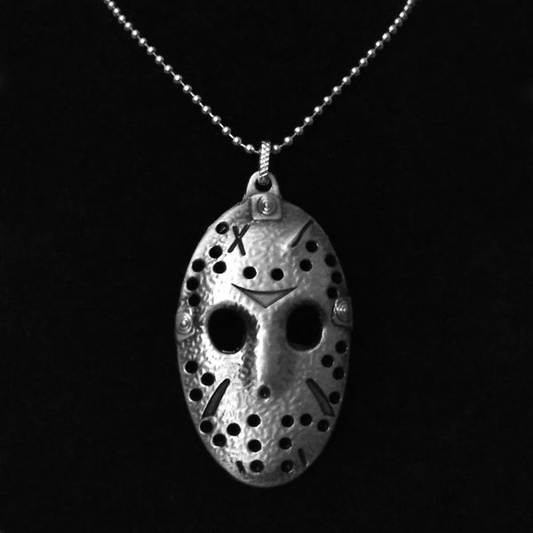 Jason Voorhees Mask Necklace - Friday the 13th