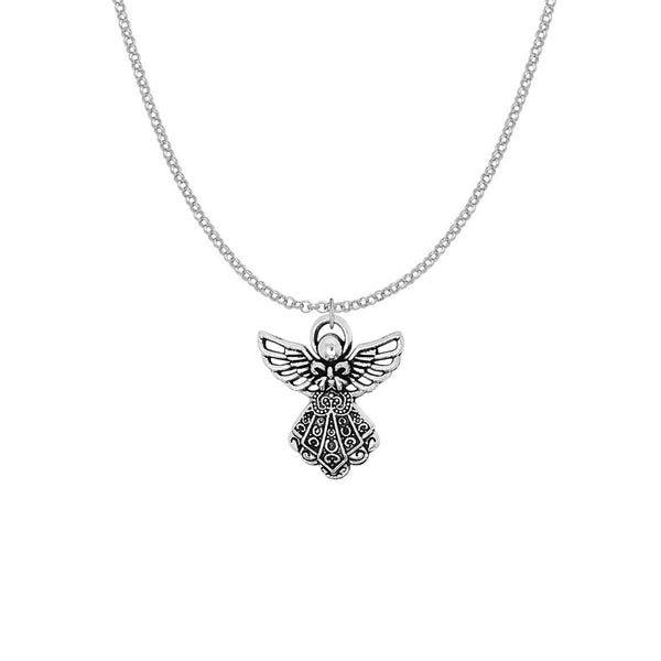Angel Wings Charm Necklace