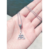 Celtic Trinity Knot Pendant Necklace