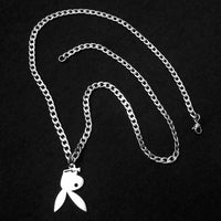Flipped Playboy Bunny Necklace