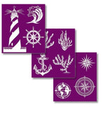 Nautical - Silkscreen Stencil