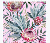 Decoupage - Tropical on Pink