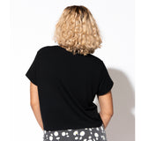 Botanic Cut Out Tee - Black