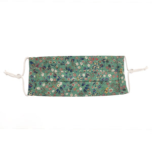 Face Mask | Green Floral | Washable & Adjustable