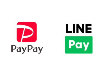 【PayPayとLINE Payに対応】