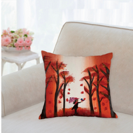 Little Ms October & Robbin Hood Accent Pillow