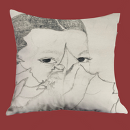 Color Me: Garden of Eden Accent Pillow