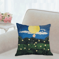 Fire Fly Fairies Accent Pillow