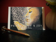 PEACE,LOVE,JOY Greeting Card