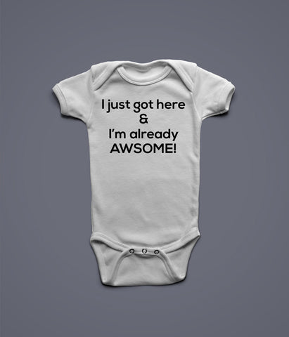 Baby grows custom candies i just got here baby grow negle Choice Image