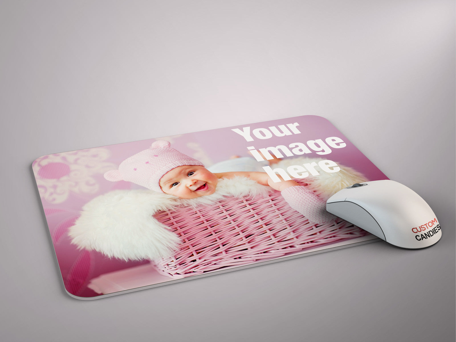 Make Your Own Picture Mouse Pad Custom Candies
