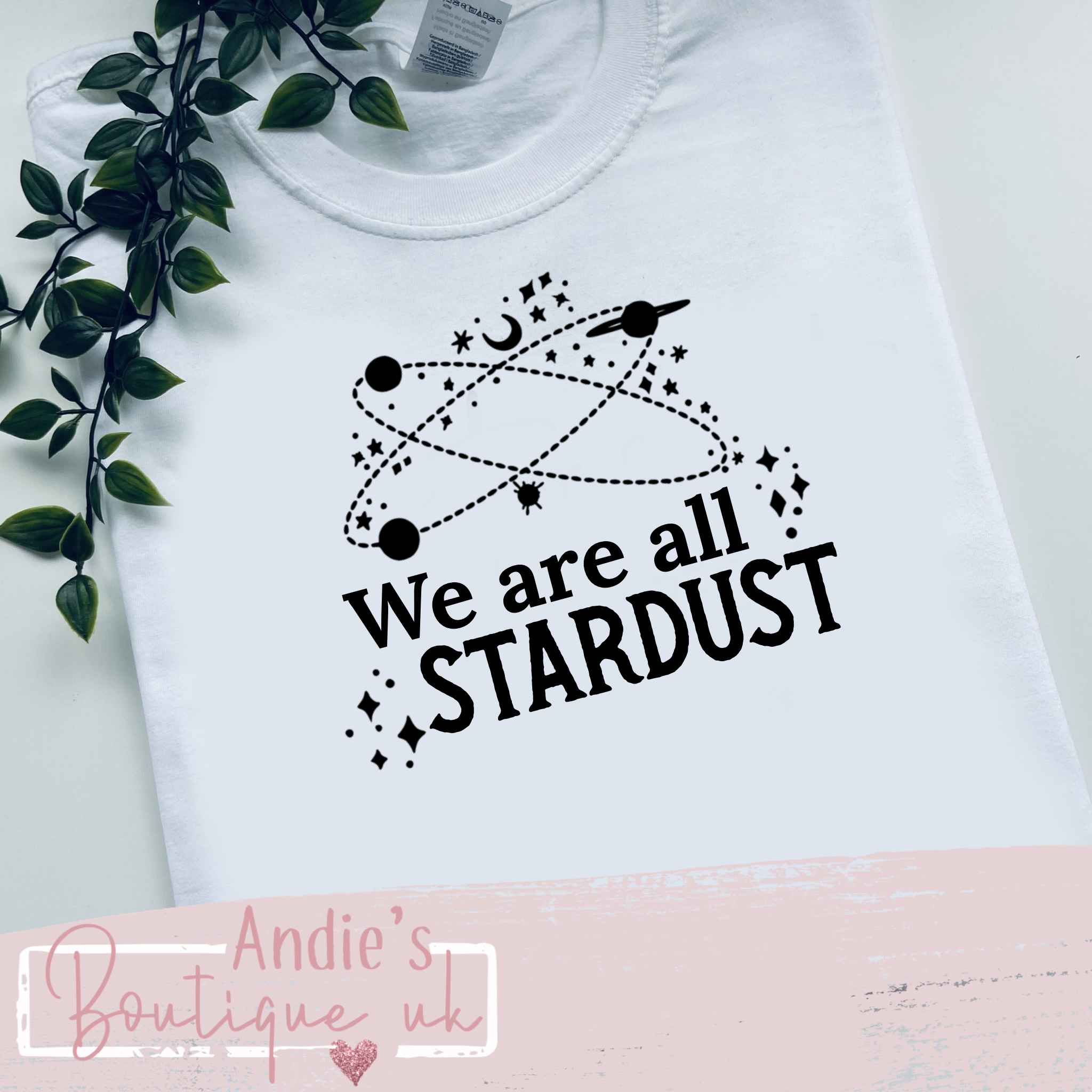 We are all stardust  kids tee