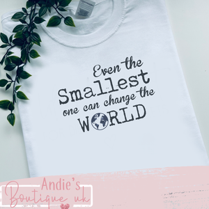 Even the smallest one.... kids tee