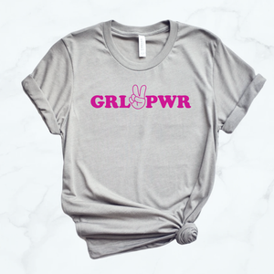 Grl power kids tee