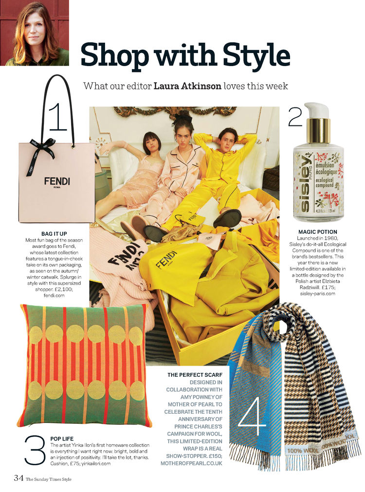 pi london in sunday times style