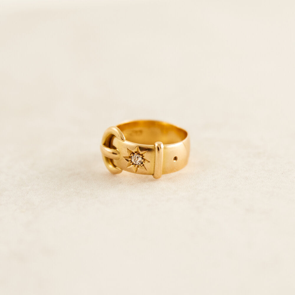 Buckle Keeper Ring