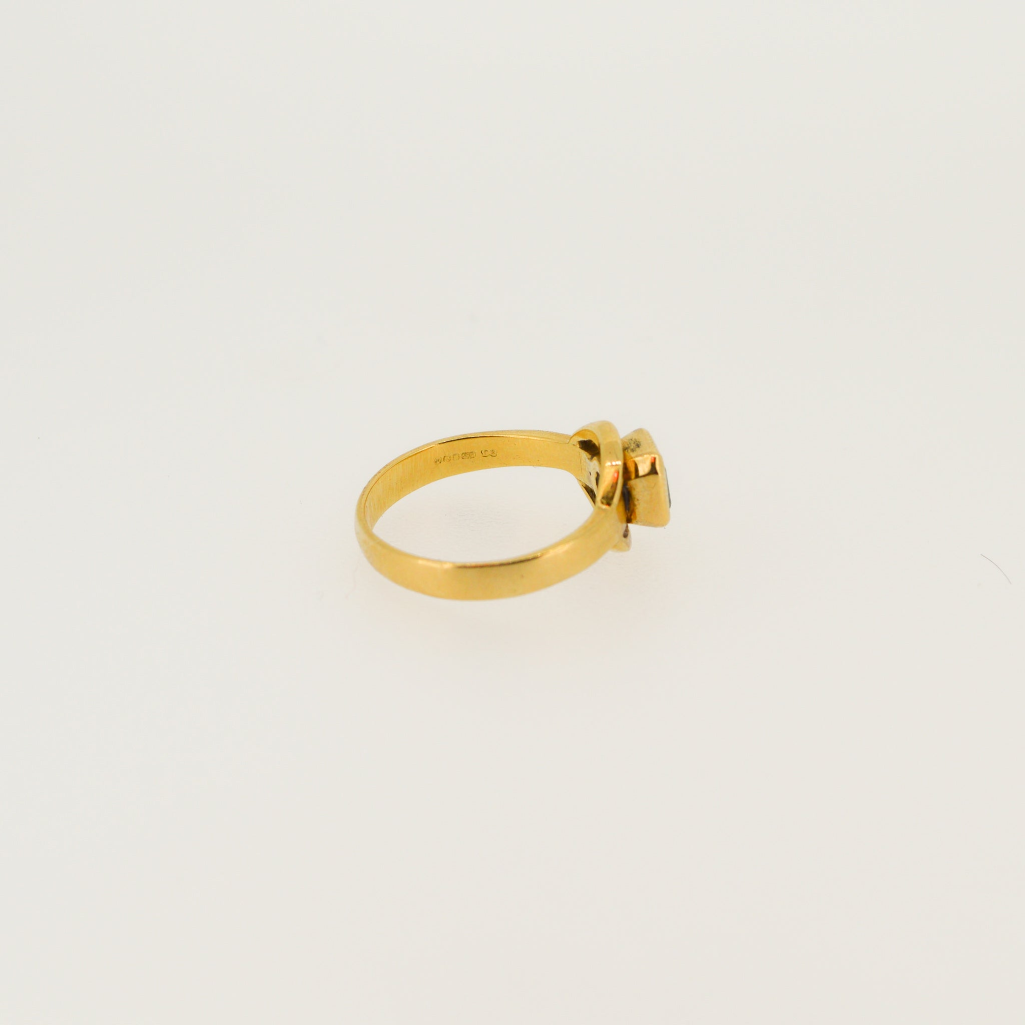 14ct Gold Emerald Ring