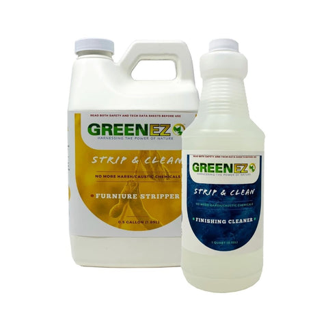 GreenEZ furniture stripper and finishing cleaner for prepping furniture before painting