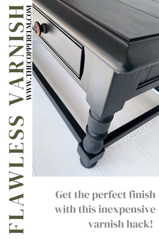 Flawless Varnish with an Inexpensive Hack