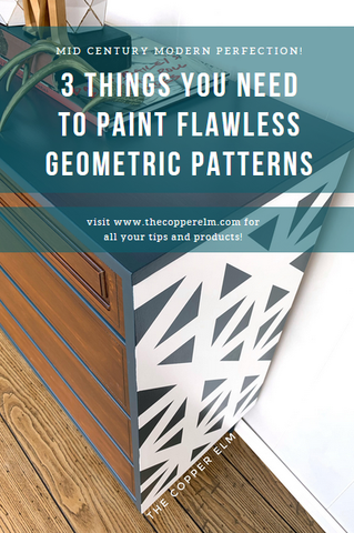 3 Things You Need to Paint Flawless Geometric Patterns