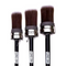 Cling On Oval series brushes. All purpose brushes perfect for painted furniture.