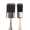 Cling On S series brushes with short handles, oval bristles, great general brush for paint and varnish.