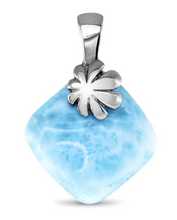 Load image into Gallery viewer, Abril Larimar Necklace