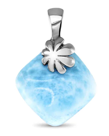 Abril Larimar Necklace