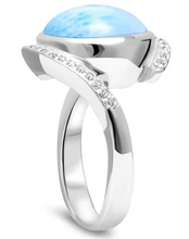Load image into Gallery viewer, Adella Larimar Ring