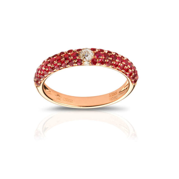 Crown Stackable Ring