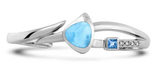 Load image into Gallery viewer, Curva Larimar Bracelet