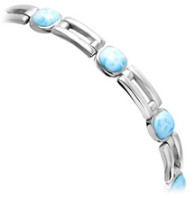 Load image into Gallery viewer, Del Mar Larimar Bracelet