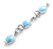 Load image into Gallery viewer, Hydra Larimar Bracelet