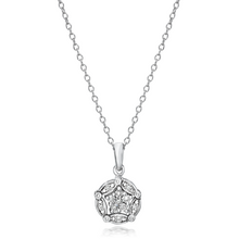 Load image into Gallery viewer, Convertible Diamond Necklace set in 925 Silver