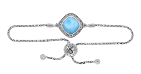 Radiance Cushion Larimar Bracelet