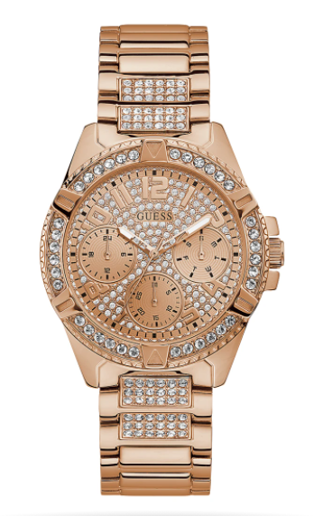 ROSE GOLD TONE CASE ROSE GOLD TONE STAINLESS STEEL WATCH