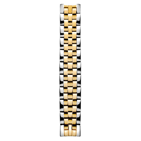 5 Link Two Tone Yellow Gold Plated Bracelet – 44-SS5TG