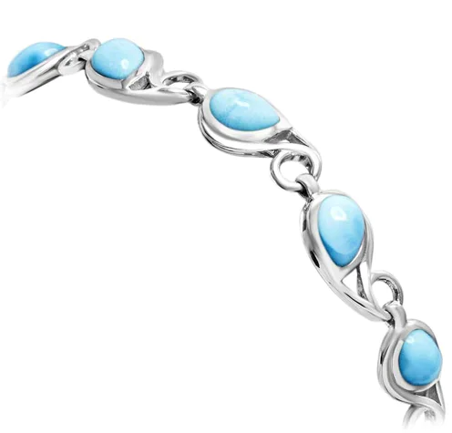 Seduction Larimar Bracelet