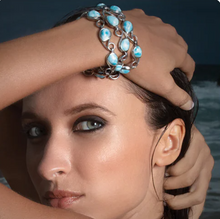Load image into Gallery viewer, Seduction Larimar Bracelet