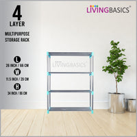 4 Layer Multipurpose Storage Rods Rack