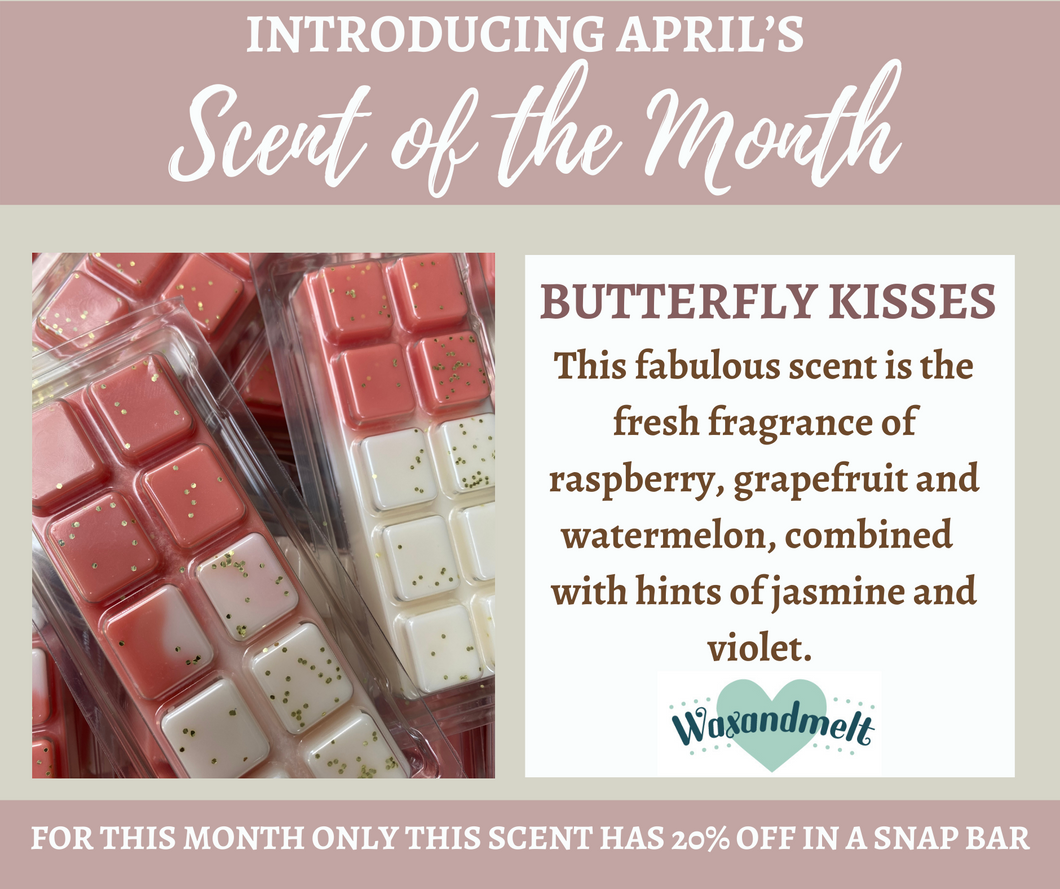 APRIL SCENT OF THE MONTH