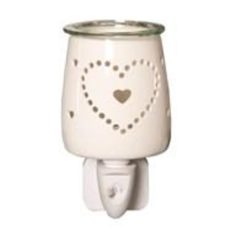 HEART PLUG IN WAX WARMER