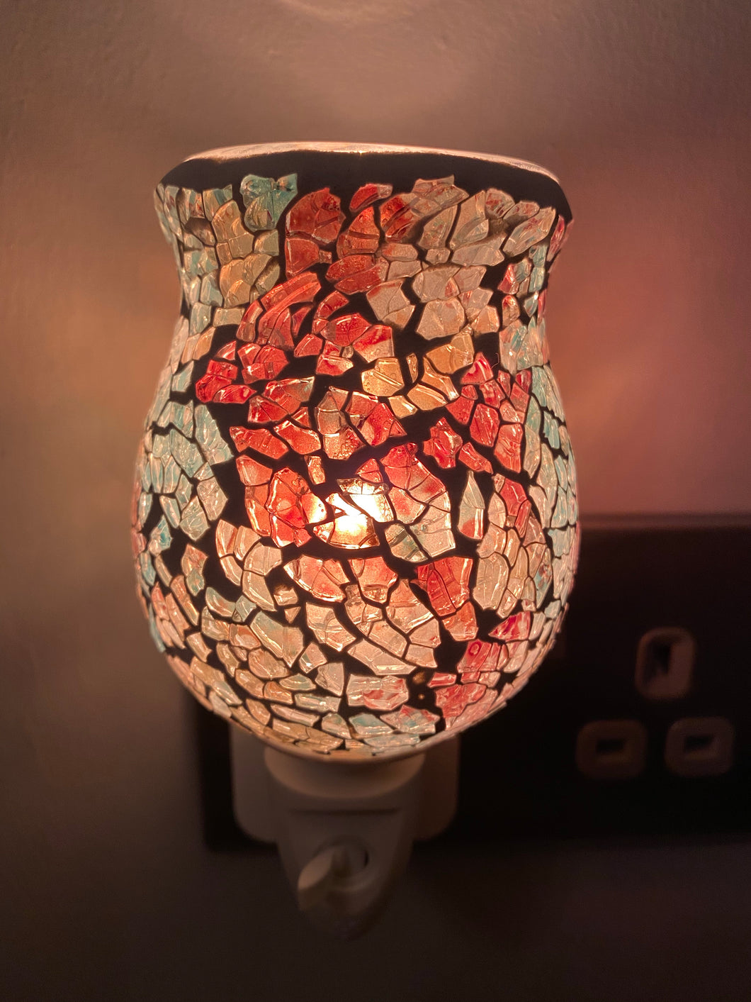 AUTUMN CRACKLE PLUG IN WAX WARMER