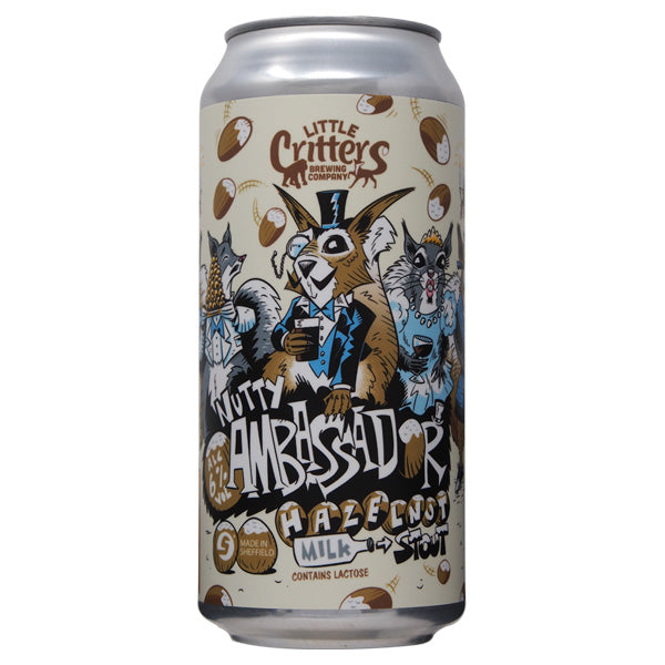 Nutty Ambassador | 6% Hazelnut Milk Stout