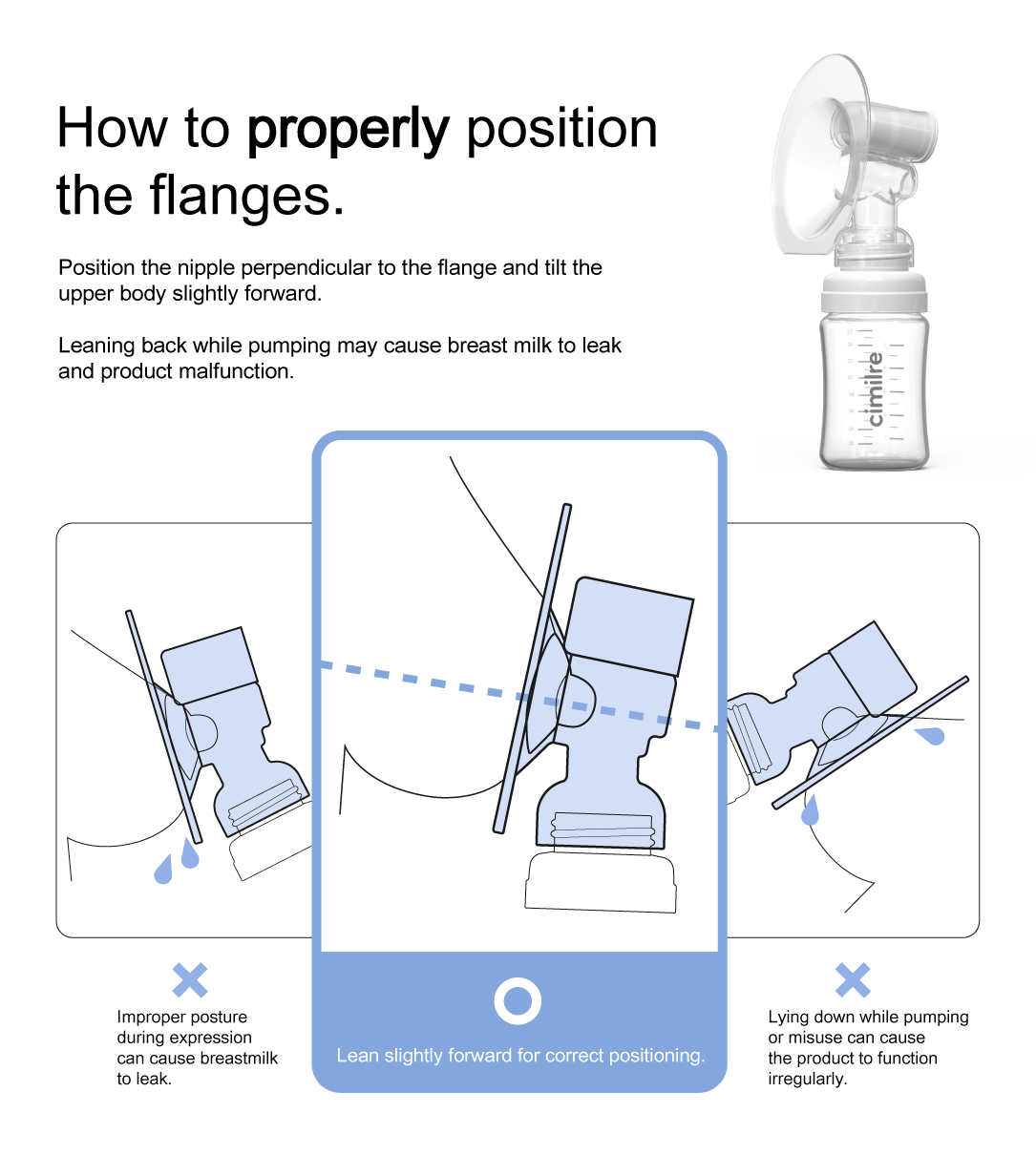 How to properly position the Free-T flanges