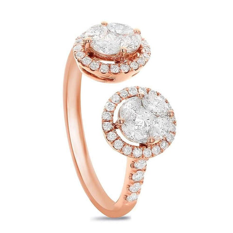 Cocktail ring with 0.78ct. of Total Diamond Weight ALR-14465
