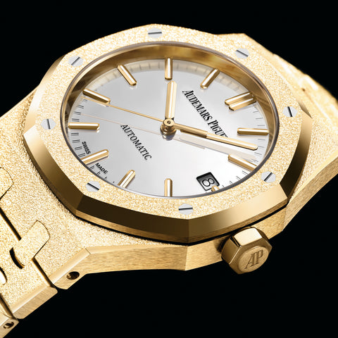 Audemars Piguet Carolina Bucci Limited Edition Royal Oak Frosted Gold, 15454BA.GG.1259BA.02