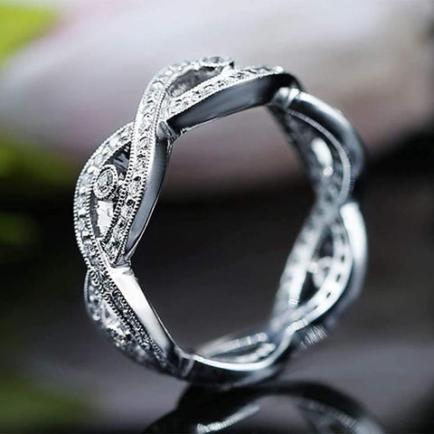 Fantastic Diamond Wedding band with total 0.57ct of Round cut Diamonds KR06805-1