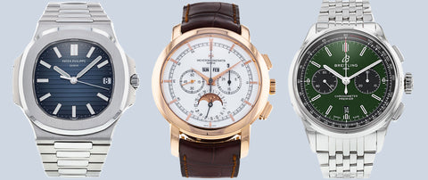 Luxury watches in your collection